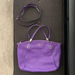 59fcfe88370 Genuine COACH Purple Purse
